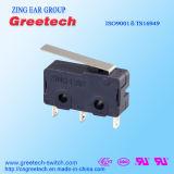 ENEC/CQC goedgekeurde Micro- Schakelaar voor Auto/Controle Applicace