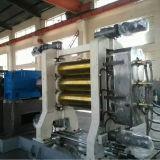 Máquina de borracha do calendário do rolo do projeto três da fábrica Xy3f360 para a fatura de borracha