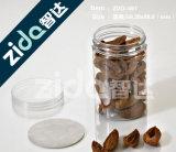 Покрашенные пластичные пустые пластичные опарникы и бутылка для еды
