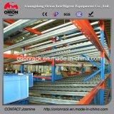 Industrielles Lager-Speicher-Selbstplättchen-Racking-System