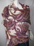 Kaschmir 100% gestrickter Druck-Schal