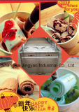 Le carter plat a fait frire la glace, machine frite par carter de crême glacée