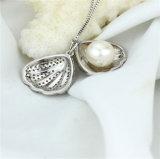 Snhの熱い販売のシェルの形の真珠の宝石類のペンダント