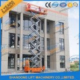 elektrische 8m Scissor Arbeitsbühne-Mann-Aufzug für Verkauf