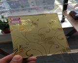 Wind-roter Spiegel des Gold24k für Dekoration mit Polierrand
