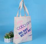 キャンバスのEcoの再使用可能な袋の買物をするトートバック