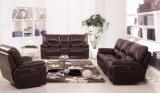 マッサージの冷却を用いるブラウンカラー革家具
