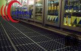 Esteira de borracha da drenagem do Cão-Osso para cozinhas/áreas transformação de produtos alimentares