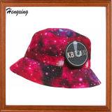 方法ロゴのカスタムデジタルによって印刷されるバケツの帽子
