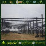 Helles Stahlkonstruktion-Lager-Aufbau-Gebäude