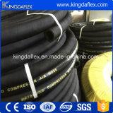 boyau en caoutchouc de l'eau d'air de couverture industrielle du tissu 300psi