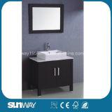 Assoalho americano do estilo da venda quente - mobília montada do banheiro da madeira contínua