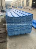 Il tetto ondulato di colore della vetroresina del comitato di FRP/di vetro di fibra riveste T172004 di pannelli