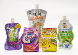 Stand di plastica su Spout Food Retort Pouch per Juice Packaging