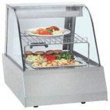 Handelsnahrungsmittelwärmer-Glasbildschirmanzeige-Schaukasten-Gaststätte-Nahrungsmittelwärmer