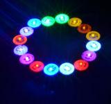 Orecchino infiammante brillante stupefacente della vite prigioniera del magnete di favore di partito LED