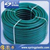 Tubo flessibile flessibile verde dell'acqua del giardino del PVC con qualità eccellente