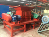 Doppio Shaft Shredder, Tyre Shredder per Rubber Recycling