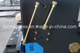 CNC die de Hydraulische Machine 10*2500 Regelende van de Scheerbeurt (het Scheren) snijdt