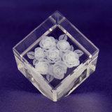 Gravierfräsmaschine-Preis Hsgp-4kb Laserengraver-beweglicher Kristalllaser-3D