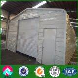 Garage prefabricado de la estructura de acero en Países Bajos (XGZ-A034)