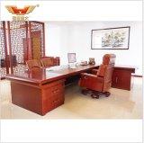 Mesa de escritório executivo lustrosa de madeira da saliência do CEO da sala de reuniões de Venner
