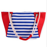 新しい女性袋の夏の新しいキャンバス浜袋のショッピング・バッグ