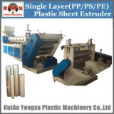 고품질 PP/PS 플라스틱 장 압출기 기계