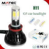 Scheinwerfer-Birnen-Auto-Lampen-Scheinwerfer-Zubehör der Paar-H4 80W 8000lm LED mit innerem Canbus