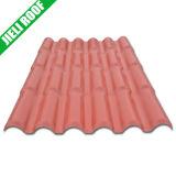 Fácil instalar el azulejo de azotea plástico para el edificio