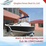 China-Hersteller5m Cuddy-Kabine-Aluminiumfischerei-Fahrzeug-Presse-Boot