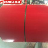 O Topcoat 25um Prepainted a bobina de aço galvanizada PPGI da fábrica de China