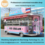 Nuevo carro del helado del diseño/acoplado móvil del alimento para la venta