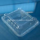 Cajas de empaquetado de la cubierta del envase de la fruta plástica disponible clara