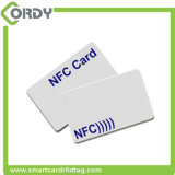 Cartão plástico printable feito sob encomenda do PVC NFC com função de NFC