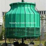 Torre refrigerando redonda do contracorrente de FRP