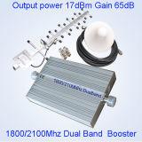 amplificateur à deux bandes St-82A du signal 2100MHz de la servocommande 1800 de répéteur de 3G 4G Lte