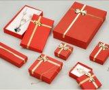 Изготовленный на заказ оптовая коробка упаковки, коробка ювелирных изделий, печатание коробки подарка
