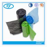 Bolso de basura plástico de los desperdicios para el hogar