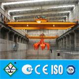 Grúa de gancho agarrador modelo aprobada de la ISO Qz del GOST del CE, grúa del compartimiento