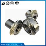 OEMの精密炭素鋼ギヤトラックのためのアルミニウムギヤピニオンギヤ螺旋形の円柱拍車ギヤ