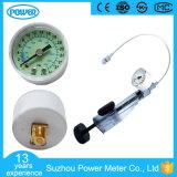 40mmの白くか黒い鋼鉄またはプラスチックケースの医学の圧力計