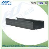 Стержни металла для перегородки сухой стены с следом и стержнем
