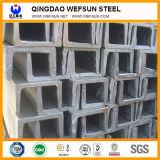 Viga de aço do aço de carbono U de Q235B 5.8m