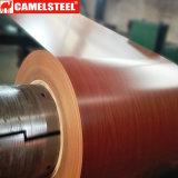 Катушка PPGI Shandong деревянная Prepainted гальванизированная стальная