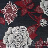 Tissu de neige de Chenille de jacquard de capitonnage pour des couvertures de sofa