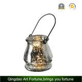 De Lantaarn van het Glas van de tuin met de Kaars van de Citronellaolie voor Openlucht en Tuin