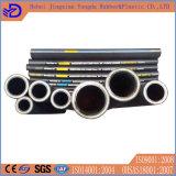 il filo di acciaio 4sh si è sviluppato a spiraleare tubo flessibile di gomma nero dell'olio