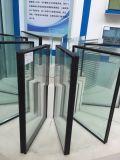 Ventana de aluminio doble del vidrio Tempered para Buliding comercial