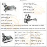 Gas-Wärme-automatischer Hersteller-Minihandelskrapfen, der Maschine herstellt